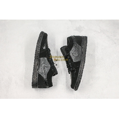 """best replicas Air Jordan 1 Low Retro """"Triple Black"""" 553558-025 Mens Womens triple black/black Shoes replicas On Wholesale Sale Online"""