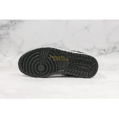 "new replicas Air Jordan 1 Low GS ""Zebra"" 553560-057 Mens Womens black/white-sail Shoes replicas On Wholesale Sale Online"