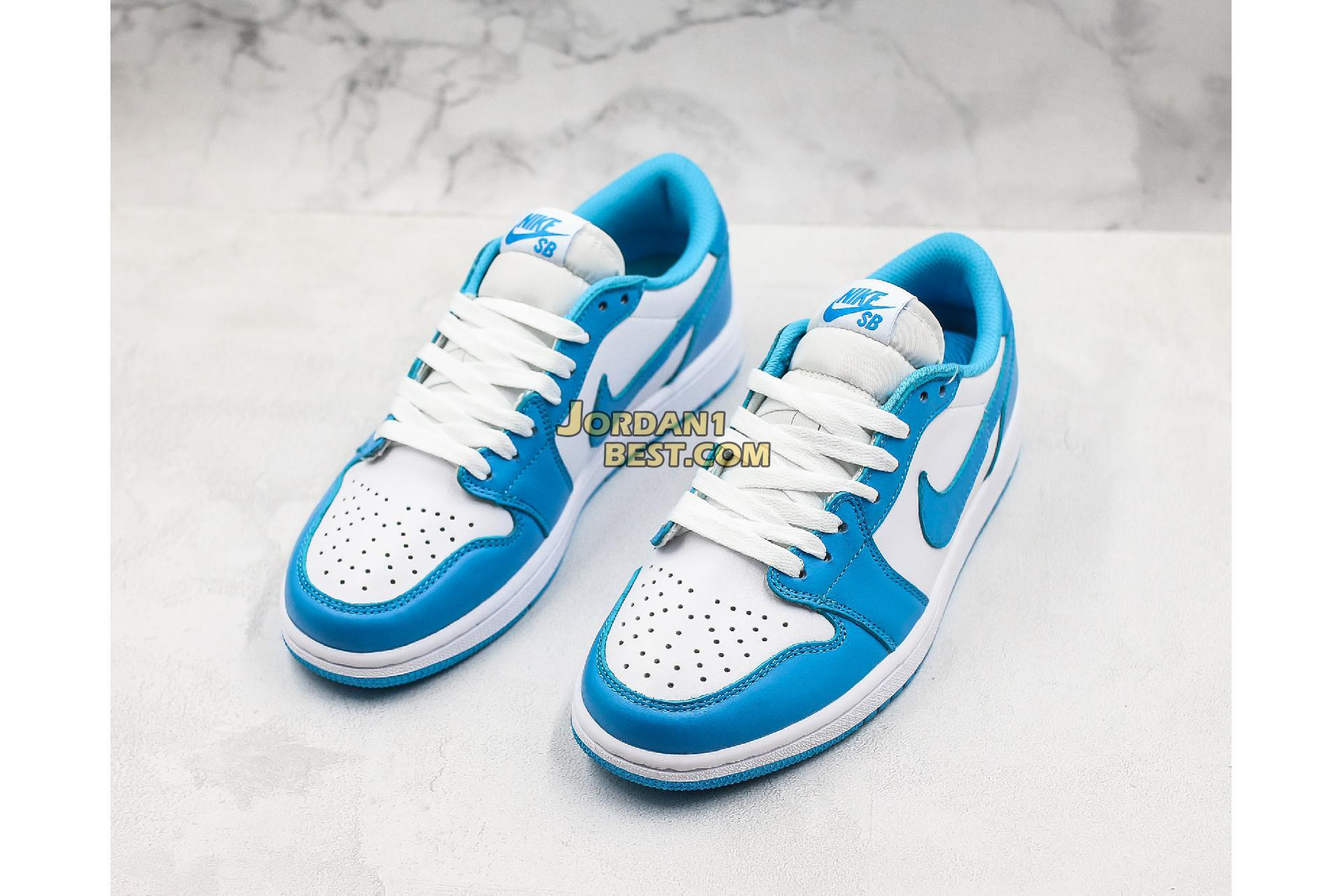 "2019 Eric Koston x Air Jordan 1 Low SB ""Powder Blue"" CJ7891-401 Mens Womens"