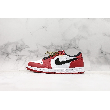 """AAA Quality Air Jordan 1 Retro Low OG """"Chicago"""" 705329-600 Mens Womens varsity red/black-white Shoes replicas On Wholesale Sale Online"""