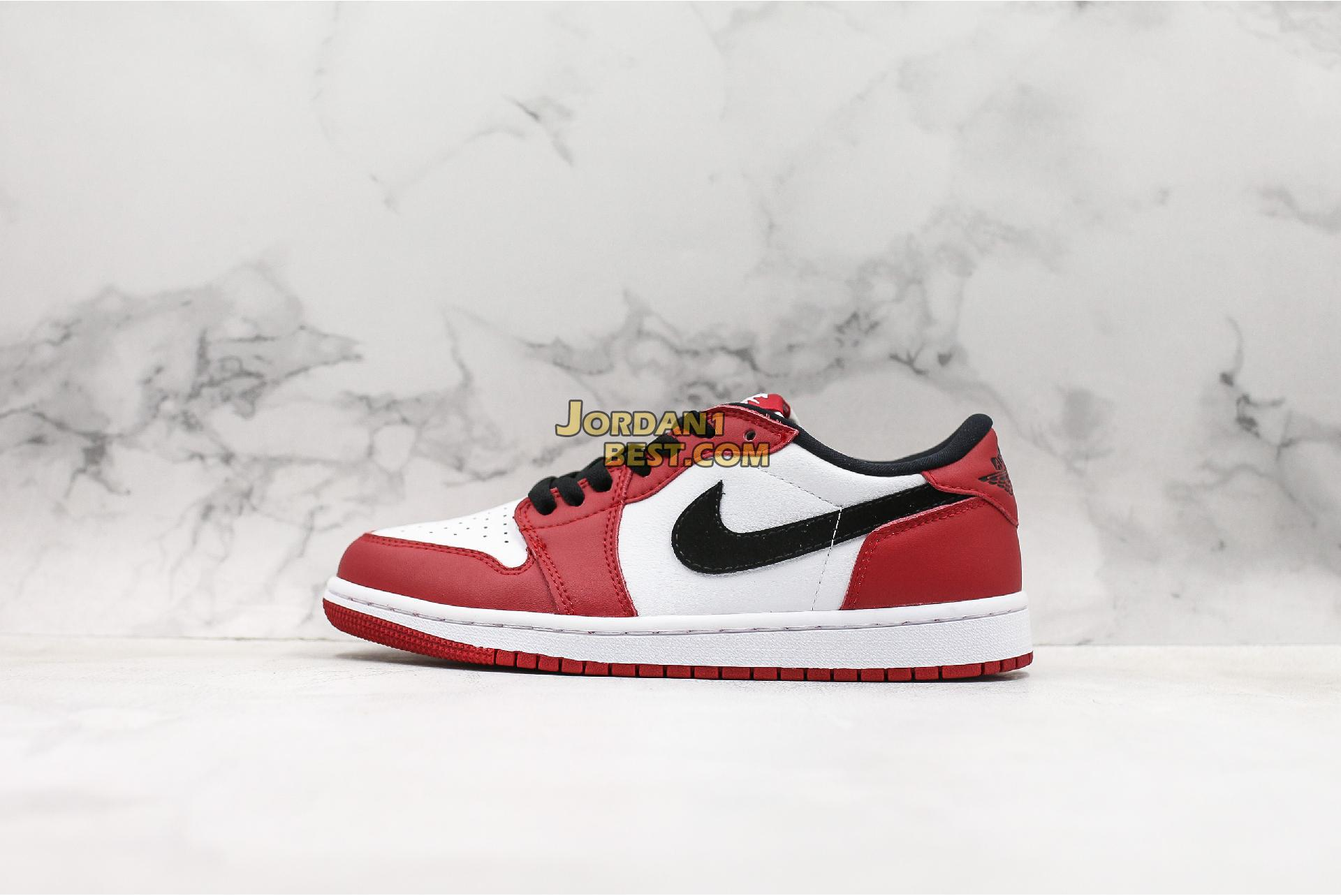 "Air Jordan 1 Retro Low OG ""Chicago"" 705329-600 Mens Womens"