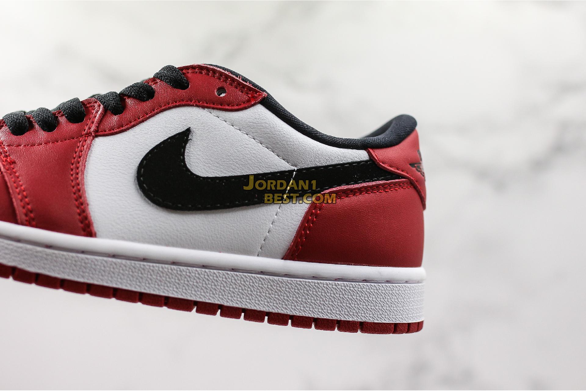 "Air Jordan 1 Retro Low OG ""Chicago"" 705329-600 Mens Womens"