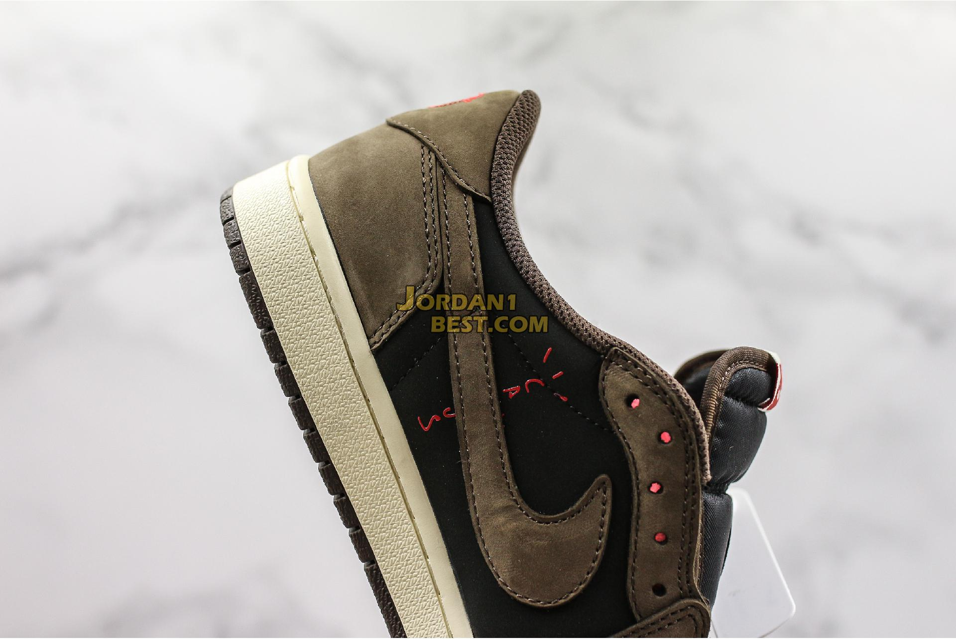"Travis Scott x Air Jordan 1 Low ""Mocha"" CQ4277-001 Mens"