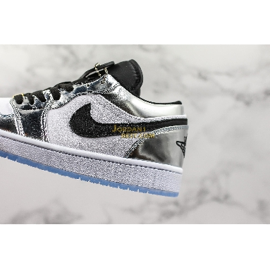"top 3 fake Air Jordan 1 Low Retro ""Pass the Torch"" AQ7476-016 Mens Womens chrome/white-turbo green-black Shoes replicas On Wholesale Sale Online"