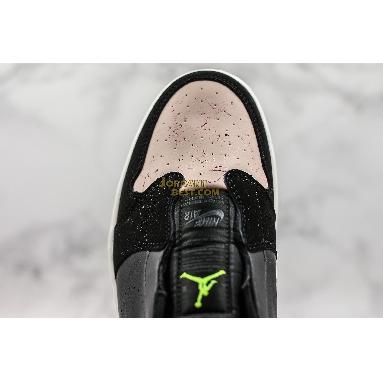 """fake Air Jordan 1 Low Slip """"Silt Red"""" AV3918-002 Mens Womens black/volt-phantom-silt red Shoes replicas On Wholesale Sale Online"""
