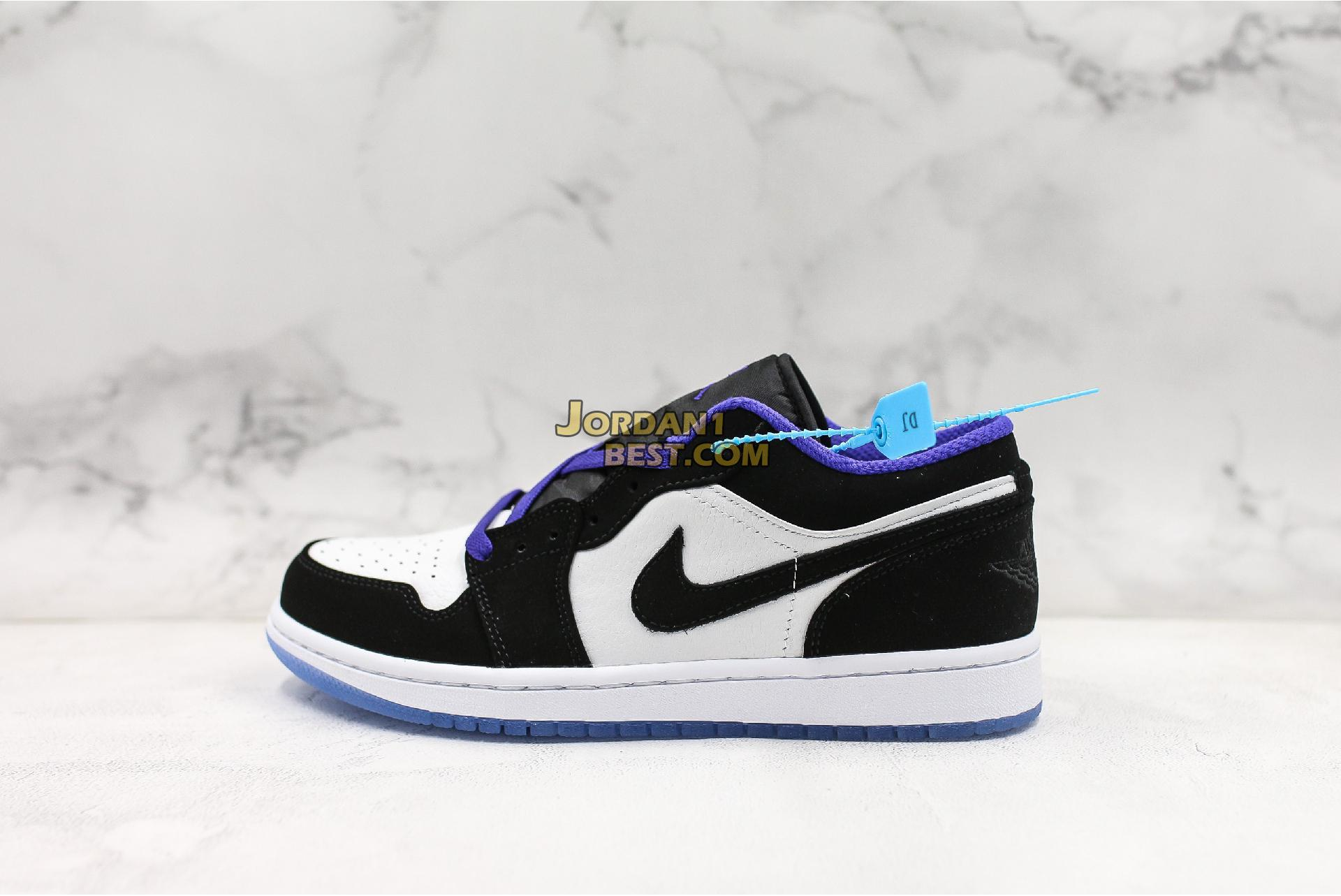 "Air Jordan 1 Low ""Concord"" 553558-108 Mens"