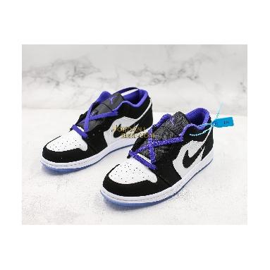 "top 3 fake Air Jordan 1 Low ""Concord"" 553558-108 Mens white/black-dark concord Shoes replicas On Wholesale Sale Online"