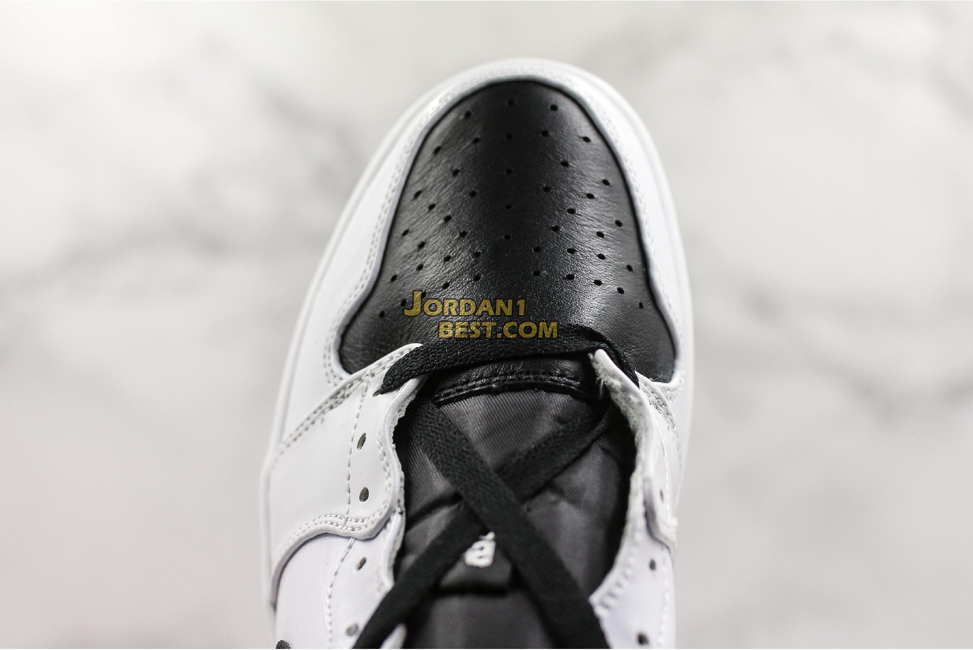 "Air Jordan 1 Retro Low GS ""White Black"" 553560-103 Mens Womens"