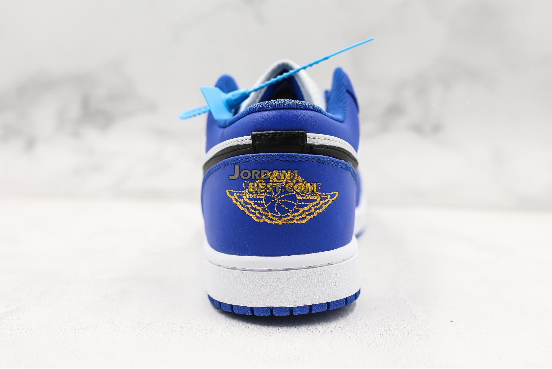 "Air Jordan 1 Retro Low ""Hyper Royal"" 553558-401 Mens Womens"