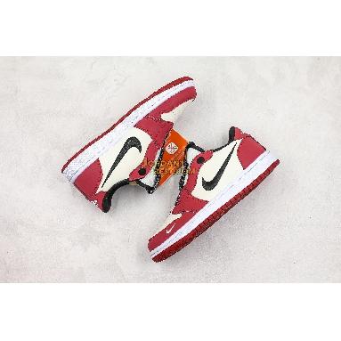 "top 3 fake Air Jordan 1 Low Slip ""Chicago"" BQ8462-601 Mens Womens varsity red/white-black Shoes replicas On Wholesale Sale Online"