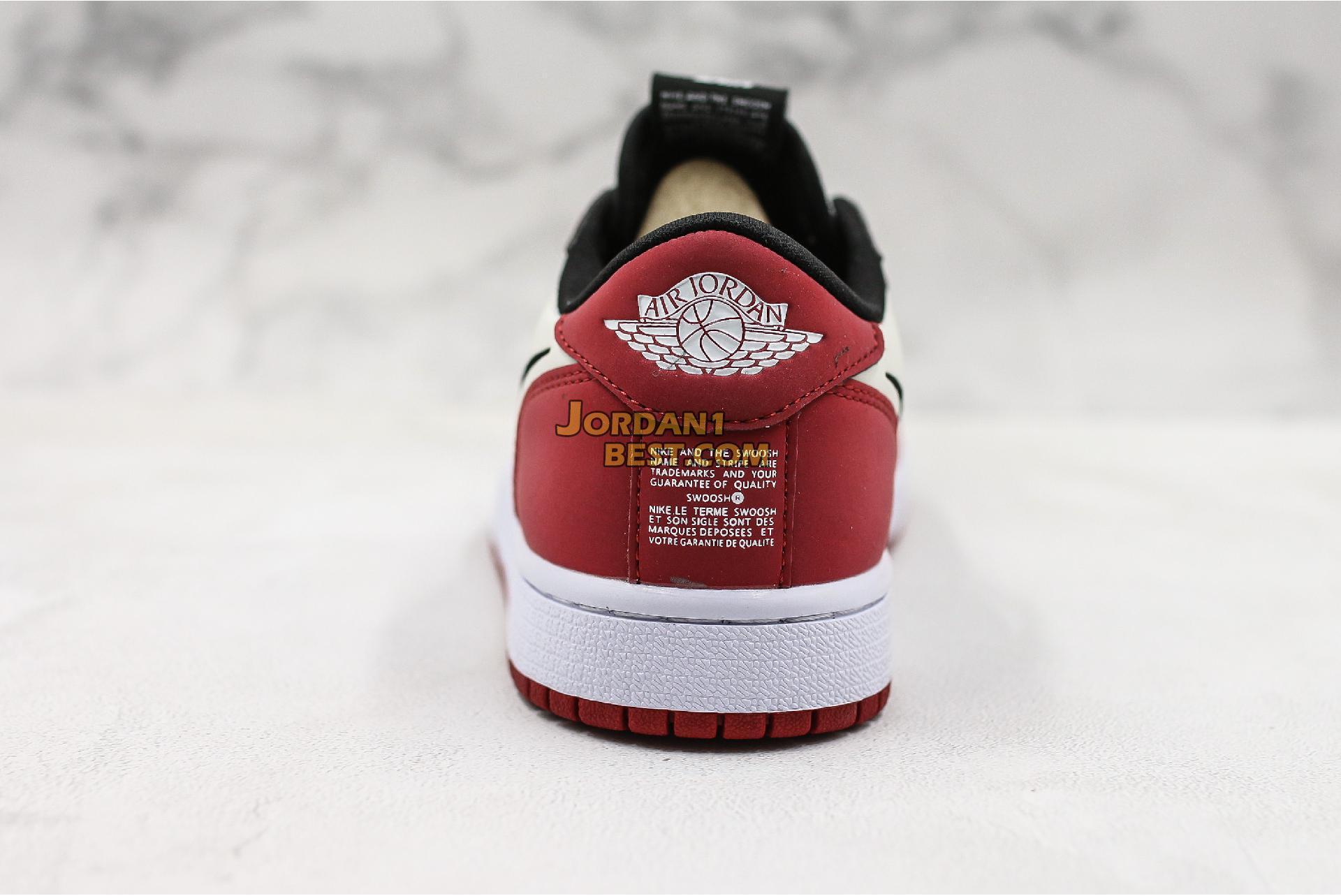 """Air Jordan 1 Low Slip """"Chicago"""" BQ8462-601 Mens Womens"""
