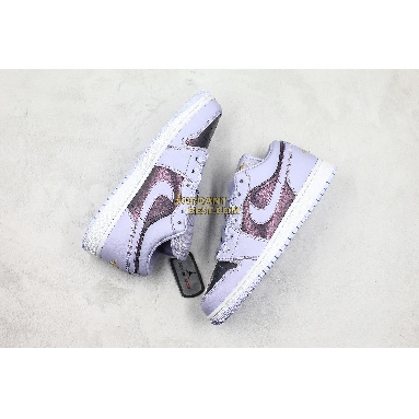 "best replicas Air Jordan 1 Low GS ""Oxygen Purple"" 554723-505 Womens oxygen purple/oxygen purple-monsoon blue-melon tint-white Shoes replicas On Wholesale Sale Online"