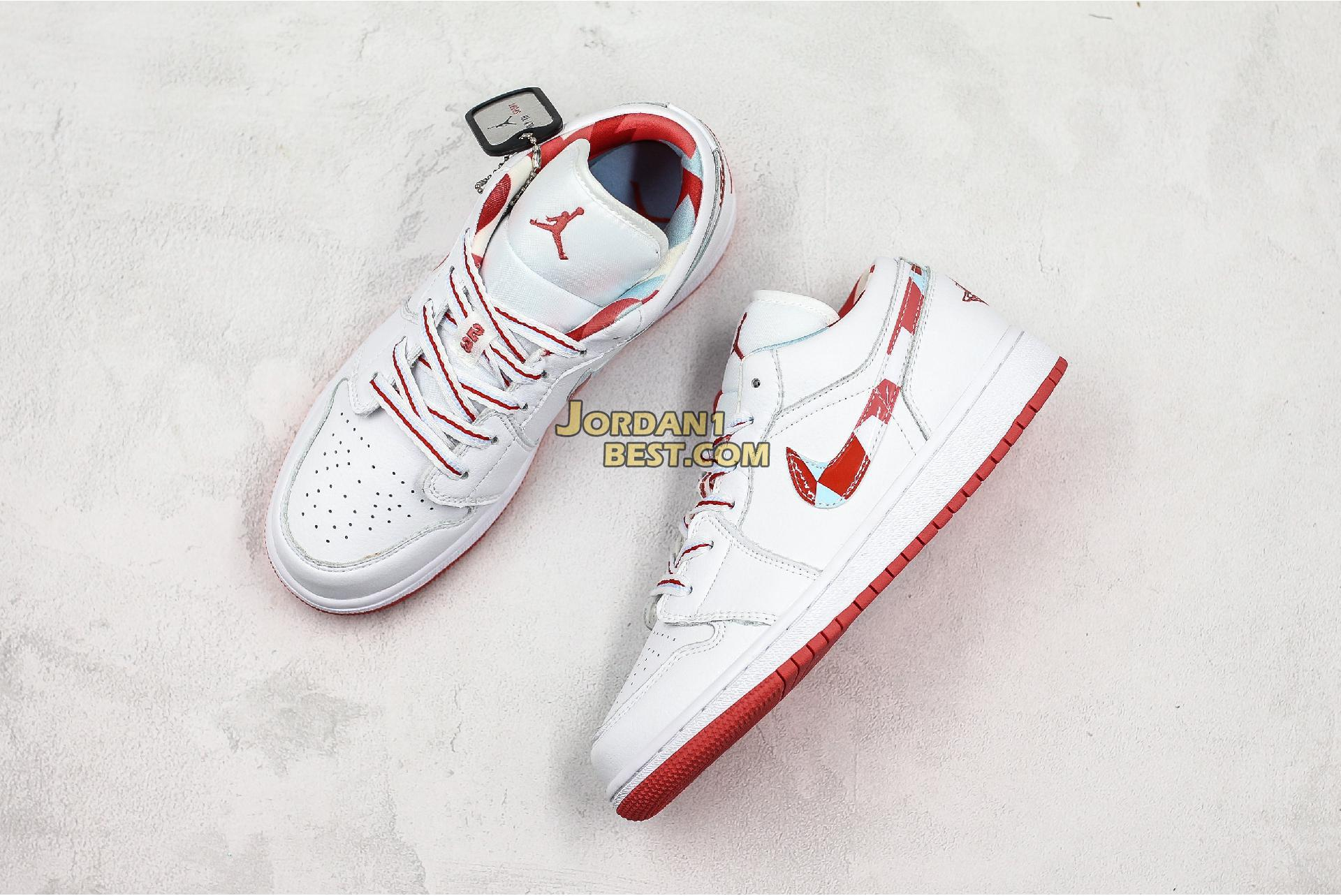 "Air Jordan 1 Low GS ""Topaz Mist"" 554723-104 Womens"