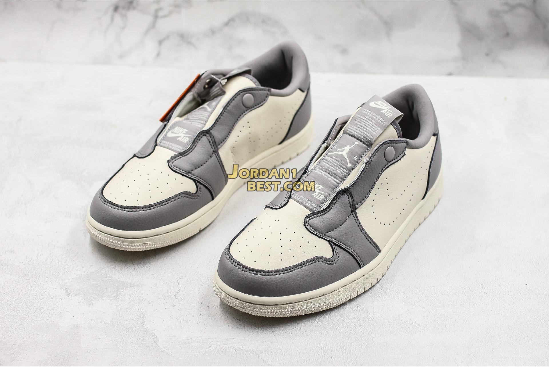 "Air Jordan 1 Low Slip ""Atmosphere Grey"" AV3918-005 Mens Womens"