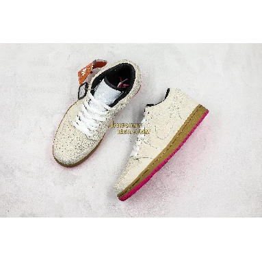 "fake Air Jordan 1 Low ""White Gym Yellow"" 553558-119 Mens Womens white/white-gym yellow-hyper pink Shoes replicas On Wholesale Sale Online"