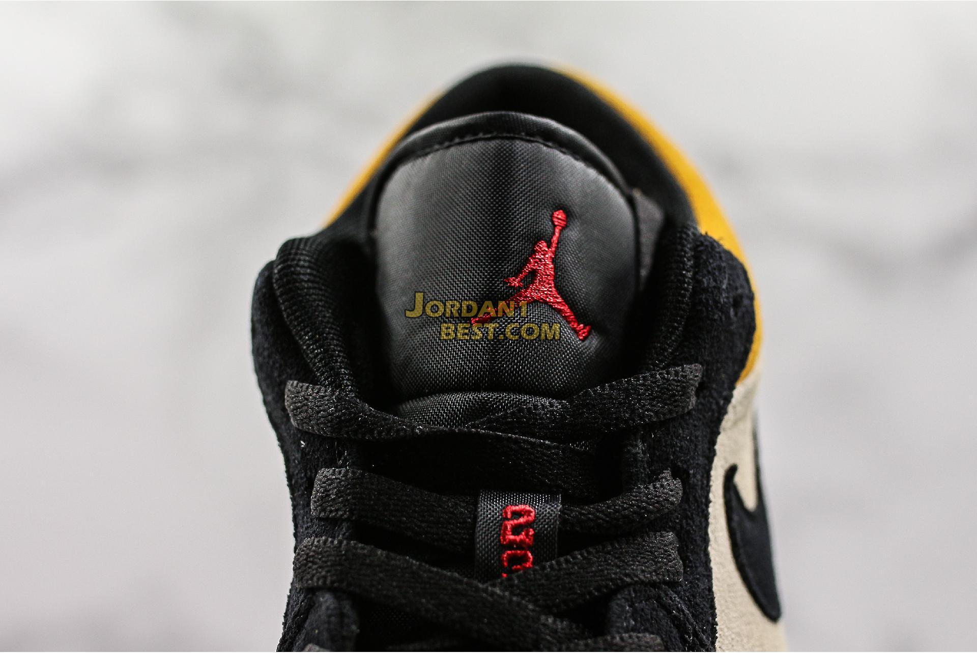 "Air Jordan 1 Low ""University Gold"" 553558-127 Mens Womens"