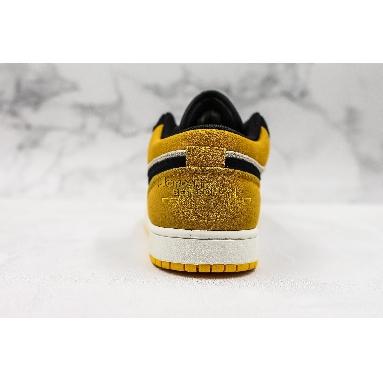 "fake Air Jordan 1 Low ""University Gold"" 553558-127 Mens Womens sail/gym red-university gold-black Shoes replicas On Wholesale Sale Online"