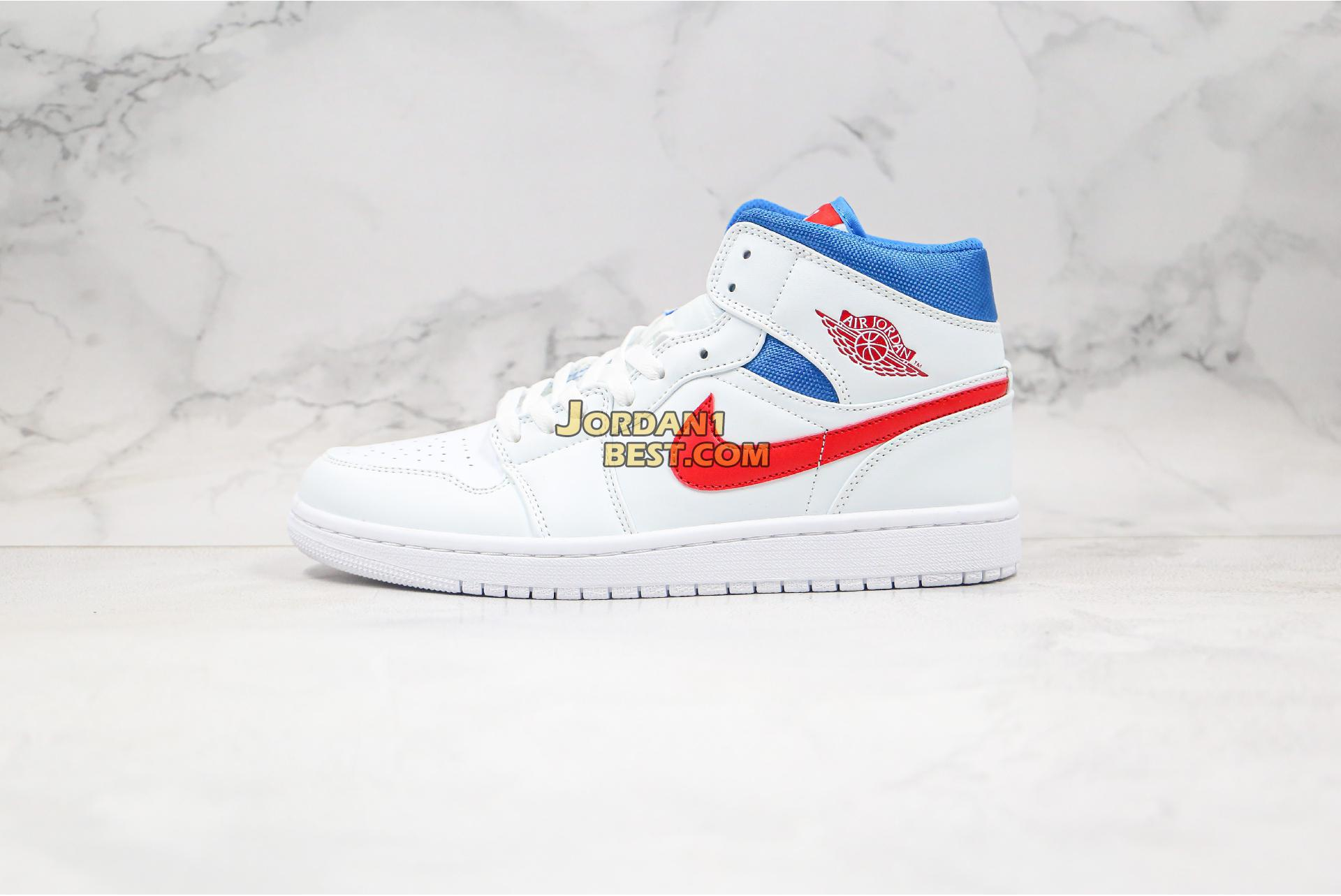 "Air Jordan 1 Mid ""USA"" BQ6472-164 Mens Womens"