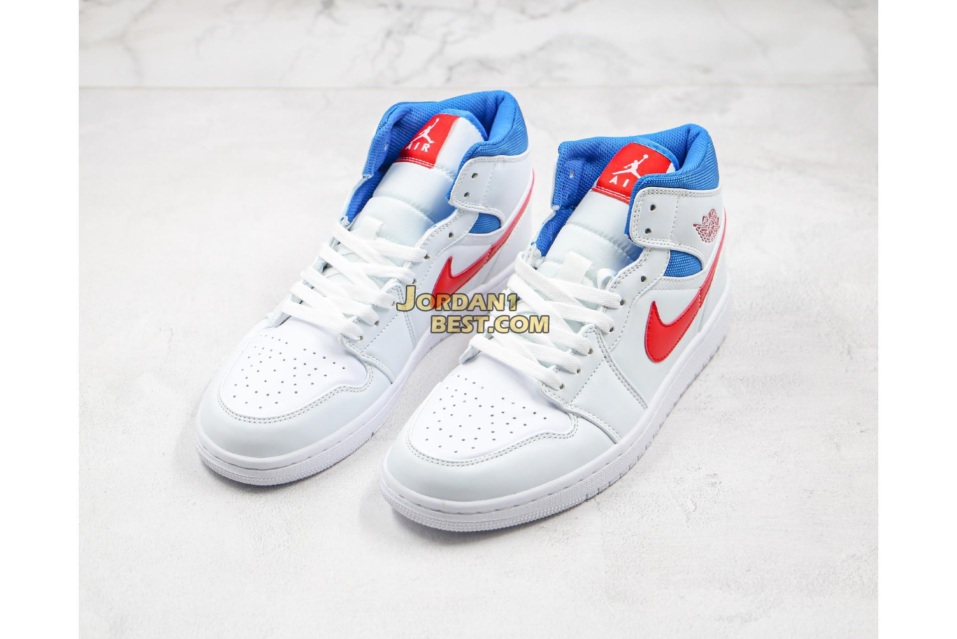 "Air Jordan 1 Mid ""USA"" BQ6472-164 Mens Womens"
