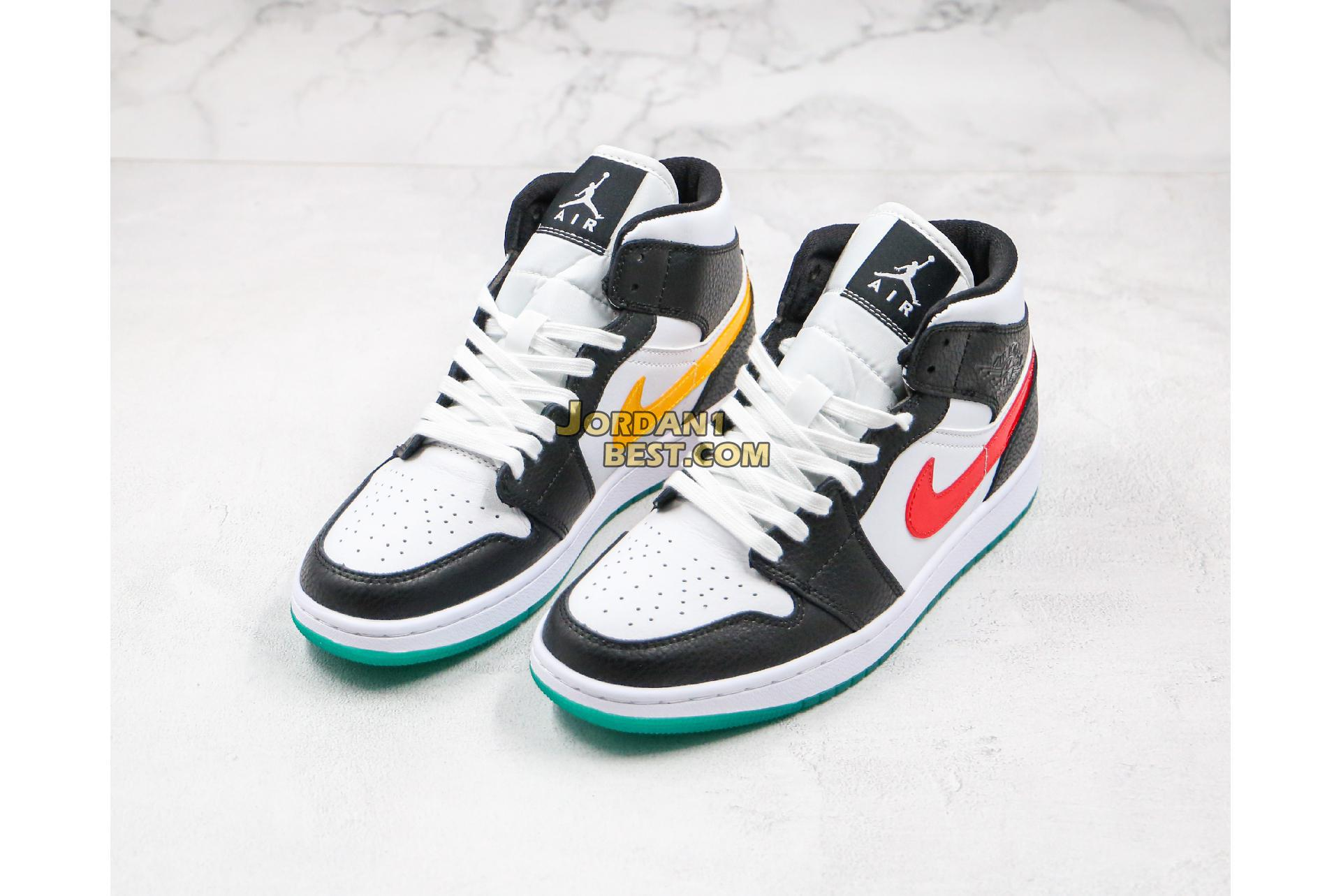 "Air Jordan 1 Mid ""Alternate Swoosh"" BQ6472-063 Mens Womens"