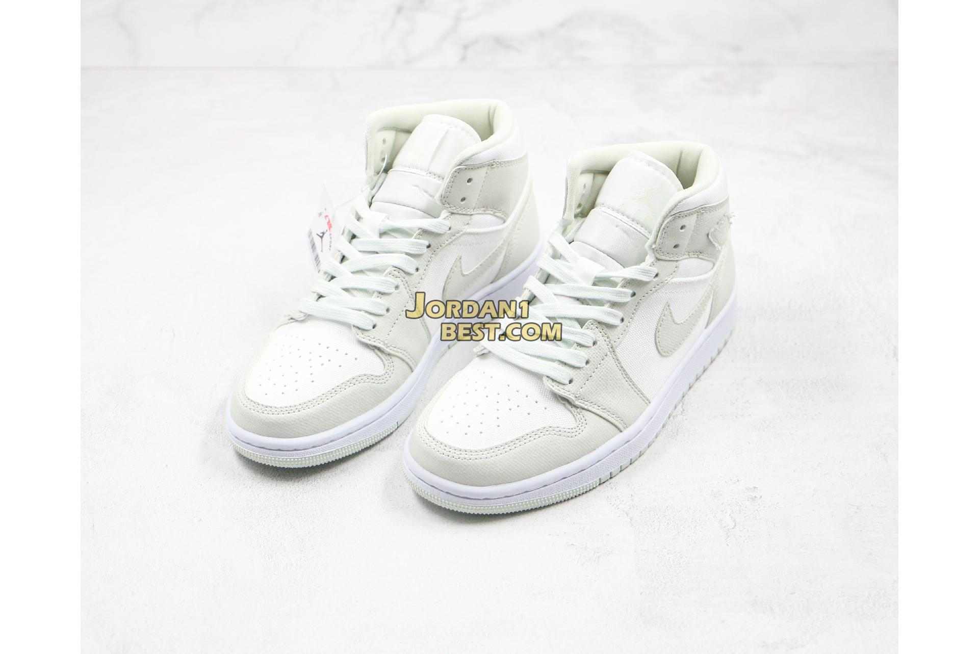 "Air Jordan 1 Mid ""Spruce Aura"" CV5280-103 Mens Womens"
