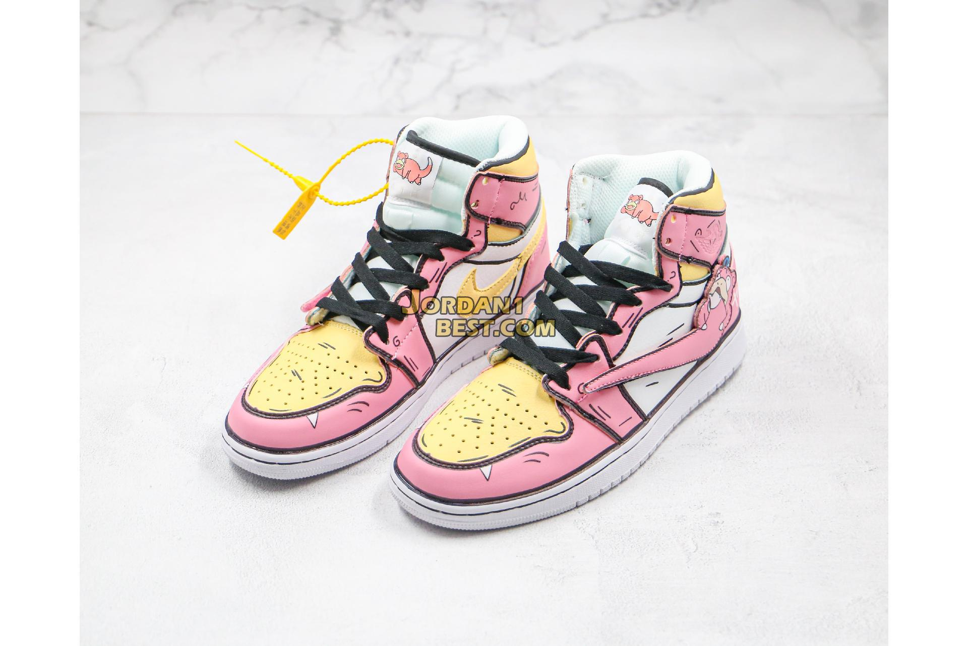 "Air Jordan 1 Mid ""Slowpoke Pink"" 556298-009 Womens"
