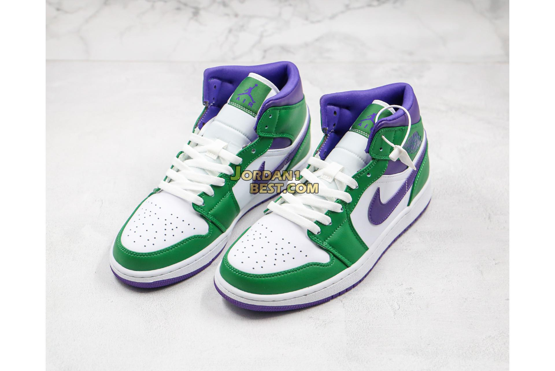 "Air Jordan 1 Mid ""Hulk"" 554724-300 Mens Womens"