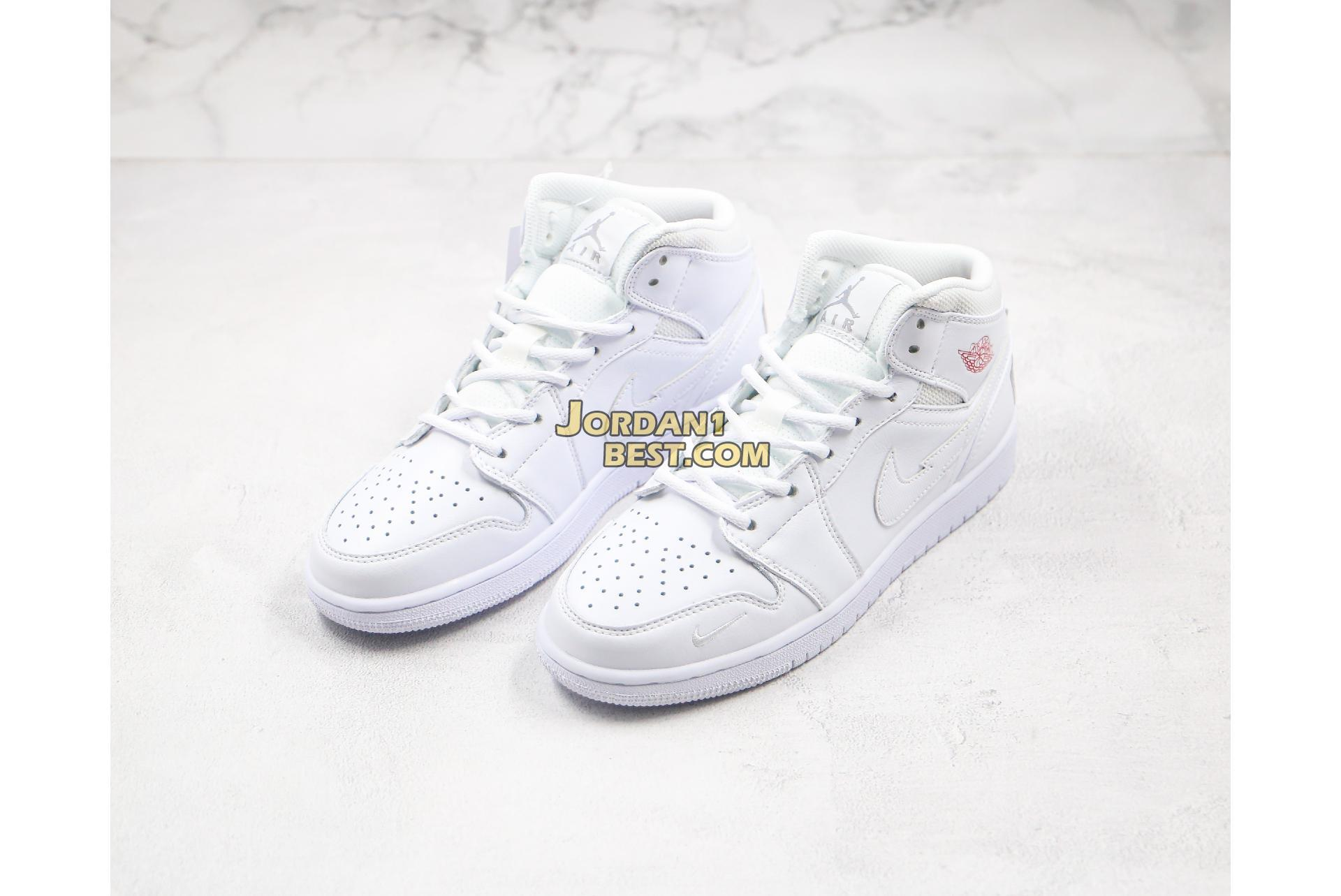 "Air Jordan 1 Mid ""NIKE Off Hook"" CW7589-100 Mens Womens"
