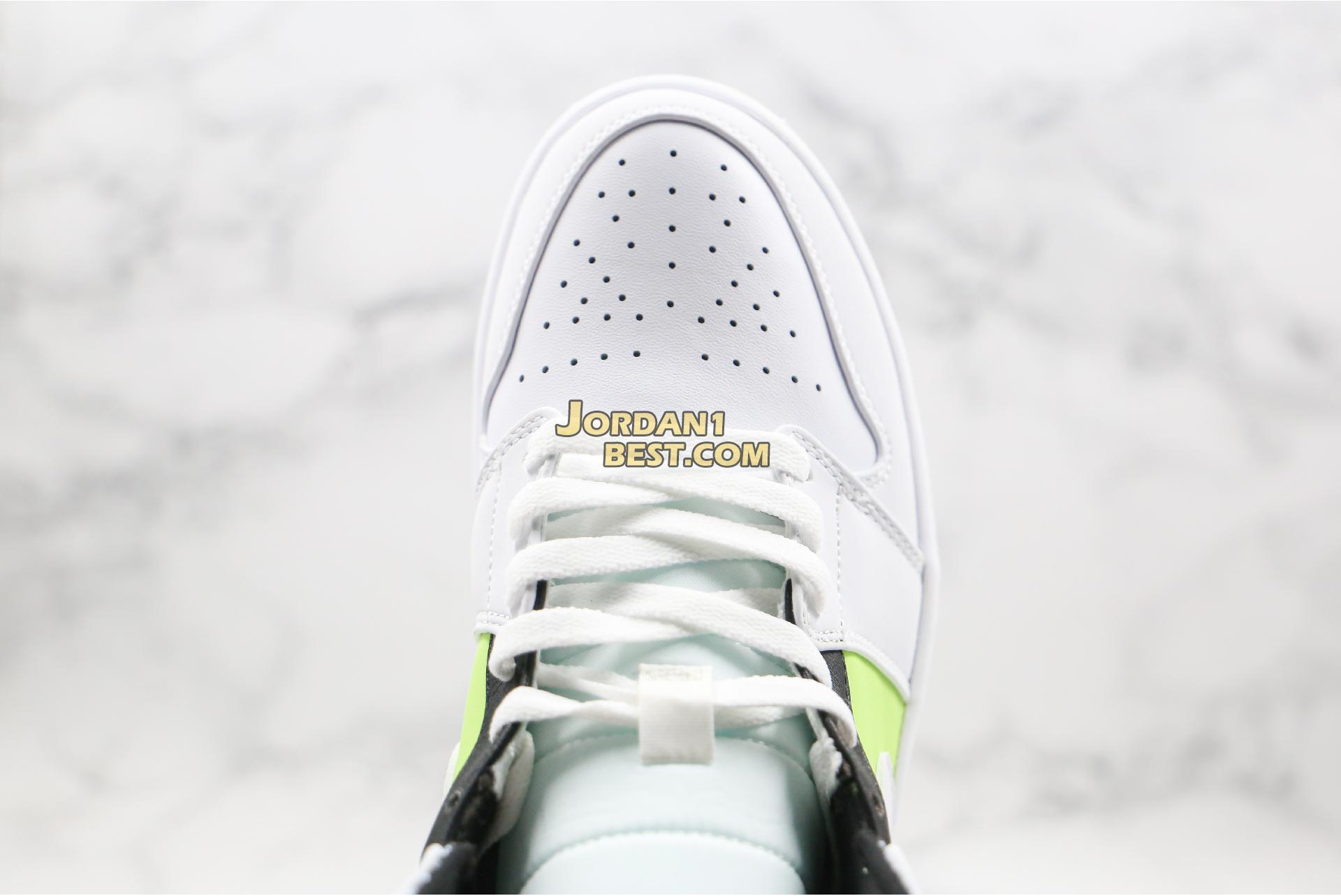 """Air Jordan 1 Mid GS """"Notebook"""" 554725-870 Mens Womens"""