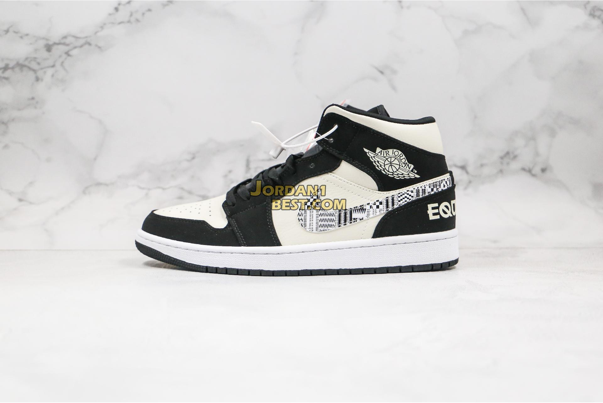 "2019 Air Jordan 1 Mid ""Melo SE Equality"" 852542-010 Mens"
