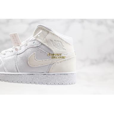 "best replicas 2020 Air Jordan 1 Mid ""White Ivory"" BQ6472-112 Womens white/white Shoes replicas On Wholesale Sale Online"