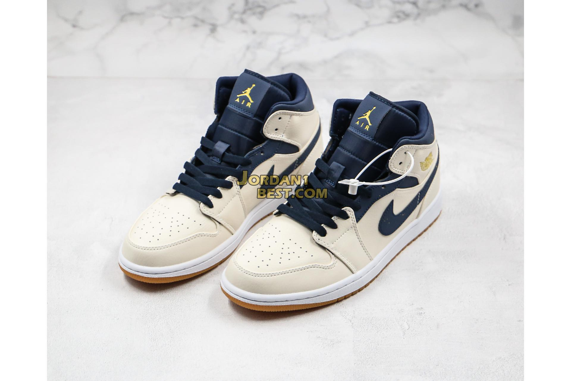 "2019 Air Jordan 1 Mid ""Jeter"" AH6342-104 Mens Womens"