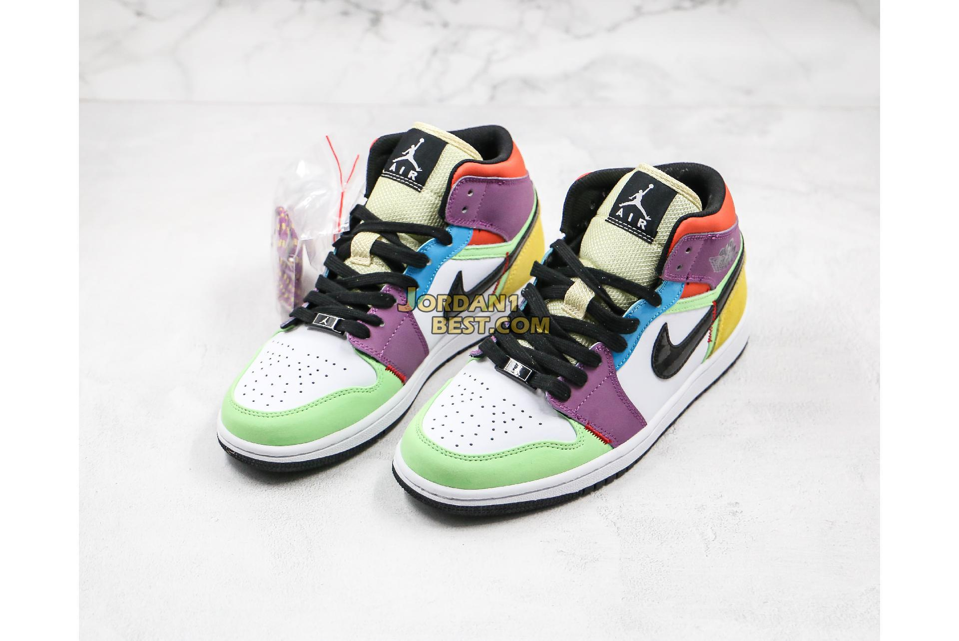 "Air Jordan 1 Mid ""SE Lightbulb"" CW1140-100 Mens Womens"