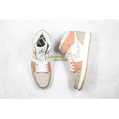 "best replicas 2019 Air Jordan 1 Mid ""Milan"" CV3044-100 Mens Womens sail/light bone-string-shimmer Shoes replicas On Wholesale Sale Online"