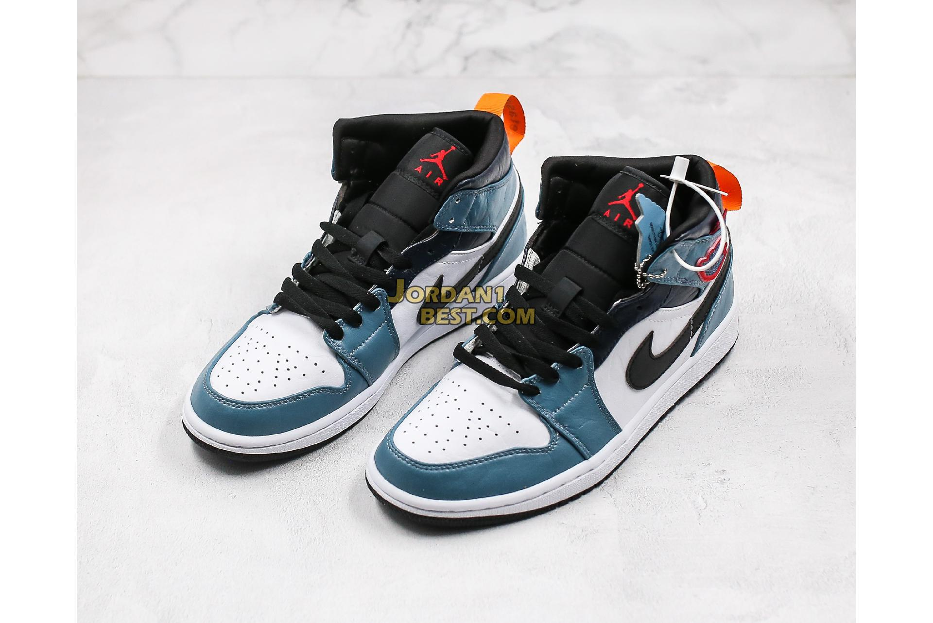 "2019 Facetasm x Air Jordan 1 Mid ""Fearless"" CU2802-100 Mens Womens"