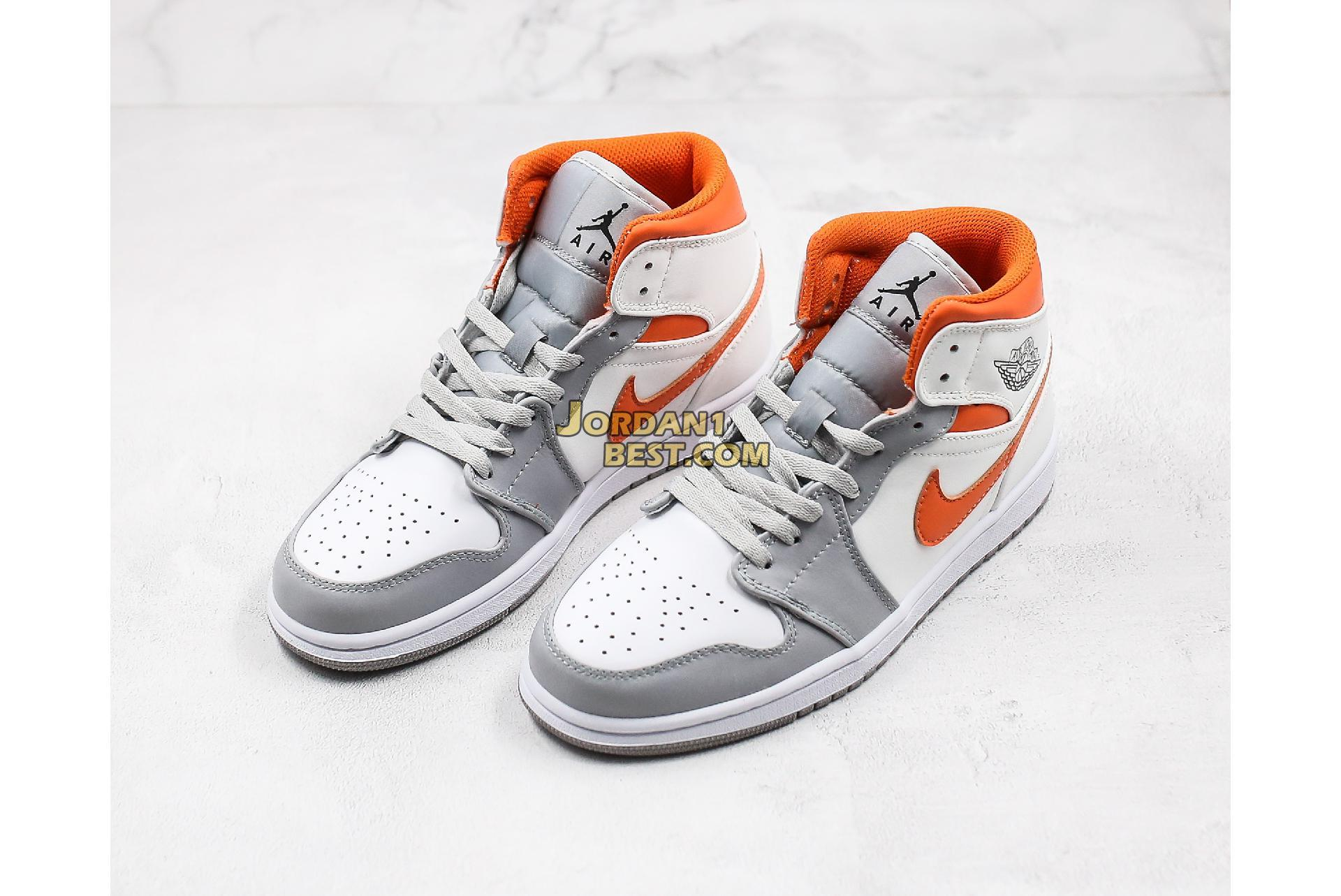 "2020 Air Jordan 1 Mid ""Starfish"" CW7591-100 Mens Womens"