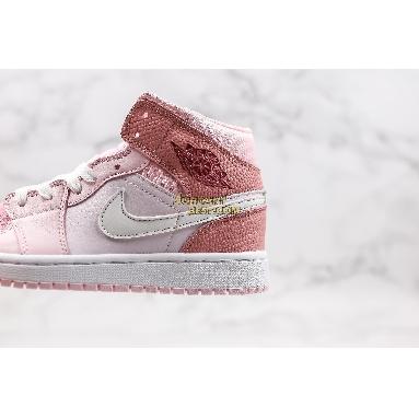 "AAA Quality 2020 Air Jordan 1 Mid ""Digital Pink"" CW5379-600 Womens digital pink/white-pink foam-sail Shoes replicas On Wholesale Sale Online"