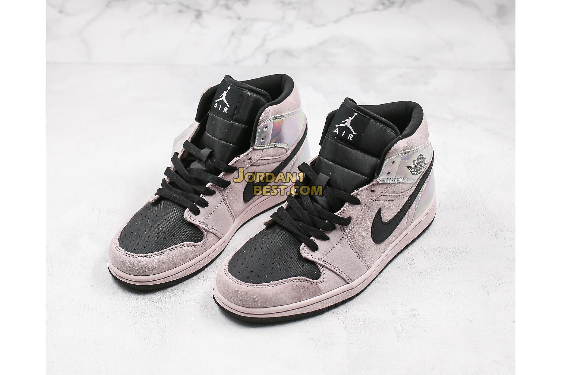 "2020 Air Jordan 1 Mid ""Iridescent"" BQ6472-602 Mens Womens"