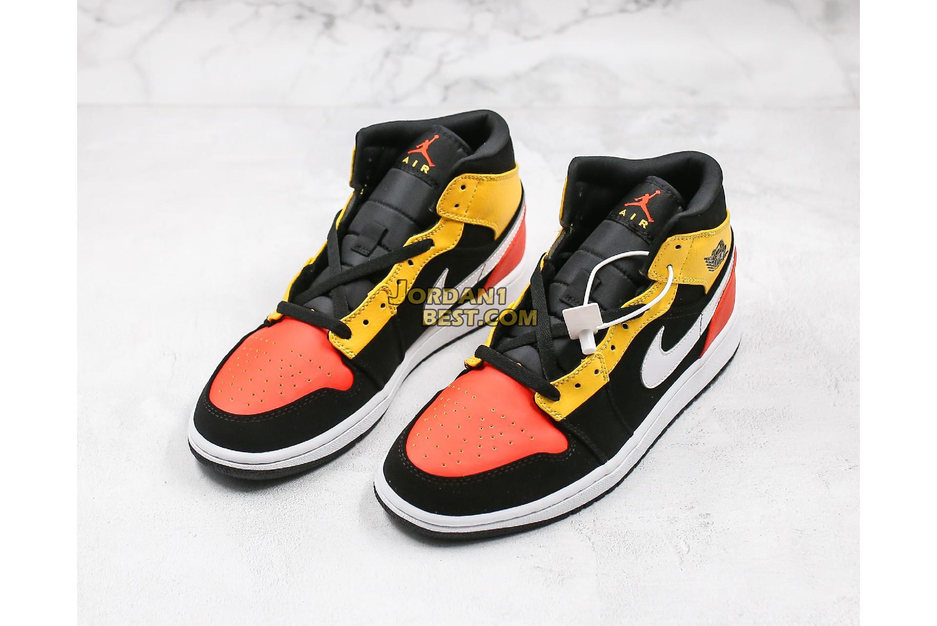 "2019 Air Jordan 1 Mid SE ""Amarillo"" 852542-087 Mens Womens"