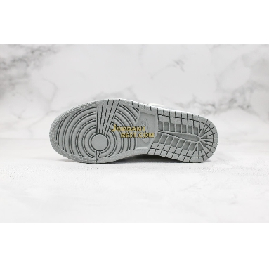 "best replicas 2020 Air Jordan 1 Mid SE ""Smoke Grey"" 554724-092 Mens Womens light smoke grey/black-white Shoes replicas On Wholesale Sale Online"