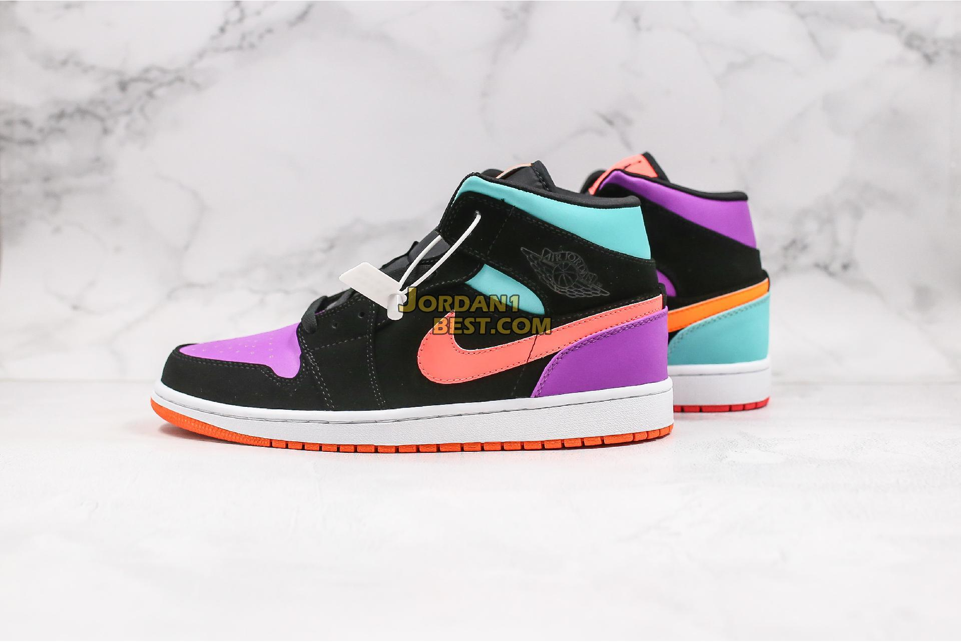 "Air Jordan 1 Mid GS ""Candy"" 554725-083 Mens Womens"