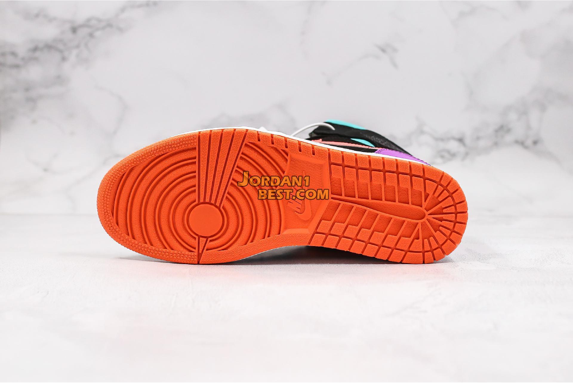 "Air Jordan 1 Mid GS ""Candy"" 554725-083 Mens Womens"