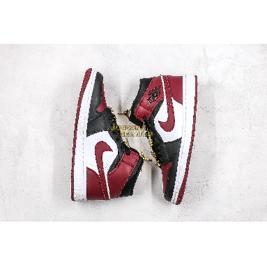 "fake Air Jordan 1 Mid ""35th Anniversary"" CZ4385-016 Mens Womens white/black/maroon Shoes replicas On Wholesale Sale Online"