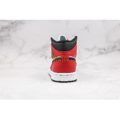 """top 3 fake 2020 Air Jordan 1 Mid """"Chicago Black Toe"""" 554724-069 Mens Womens black/gym red-white Shoes replicas On Wholesale Sale Online"""