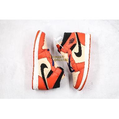 "new replicas Air Jordan 1 Retro Mid SE ""Team Orange"" 852542-800 Mens Womens team orange/black Shoes replicas On Wholesale Sale Online"
