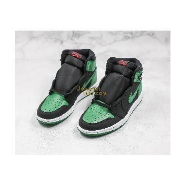 "top 3 fake Air Jordan 1 Retro High OG ""Pine Green 2.0"" 555088-030 Mens black/white-pine green-gym red Shoes replicas On Wholesale Sale Online"