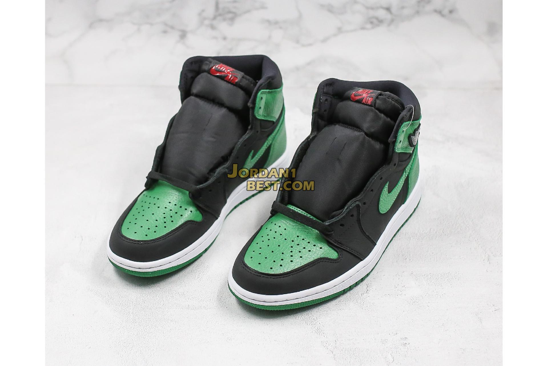 "Air Jordan 1 Retro High OG ""Pine Green 2.0"" 555088-030 Mens"