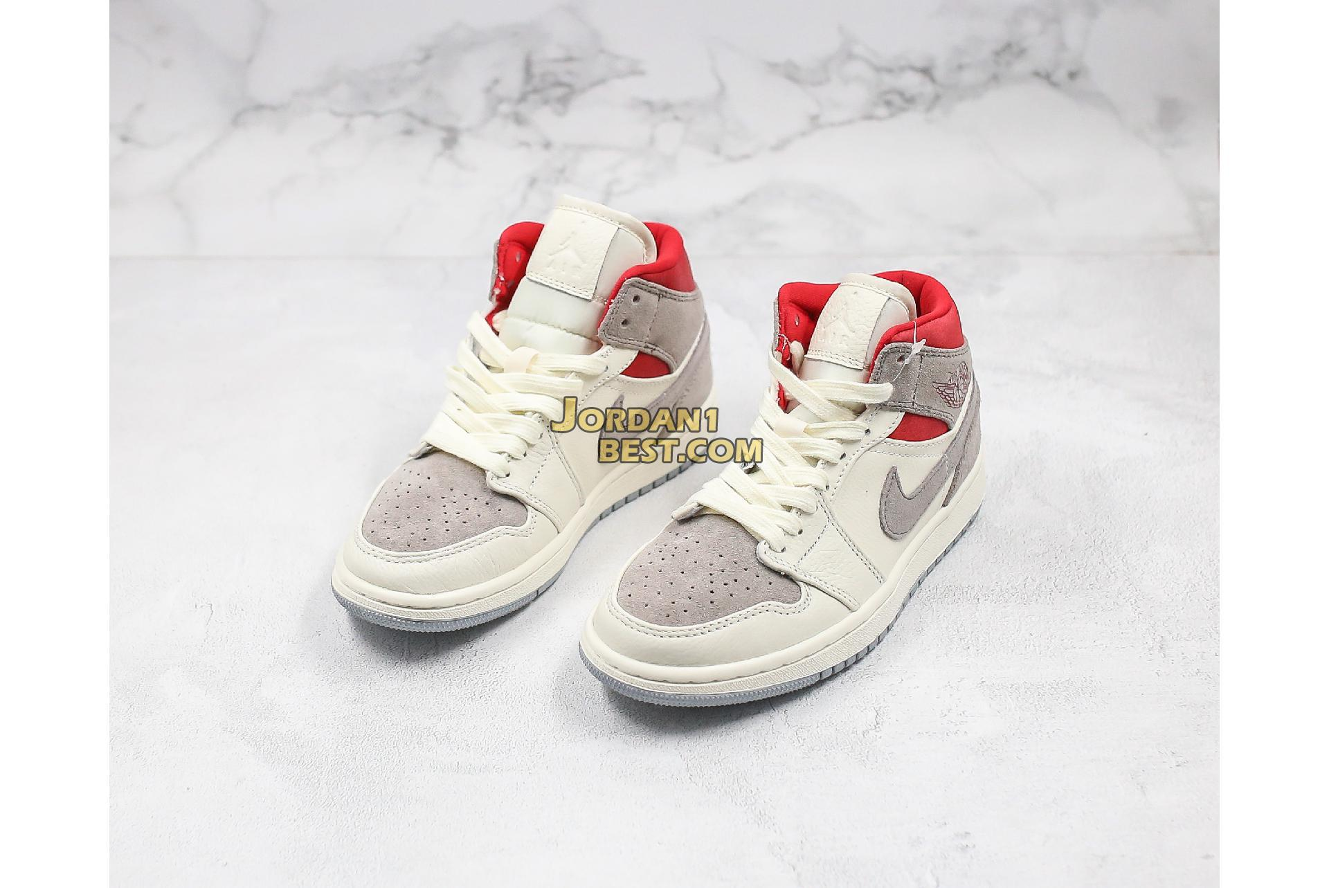 "Sneakersnstuff x Air Jordan 1 Mid ""Past, Present, Future"" CT3443-100 Mens Womens"