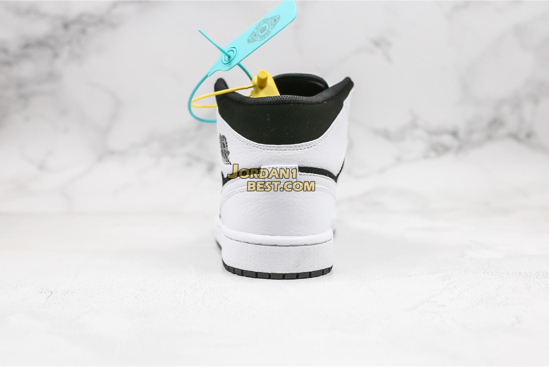 """Air Jordan 1 Retro Mid """"Tuxedo"""" 554724-113 Mens Womens"""