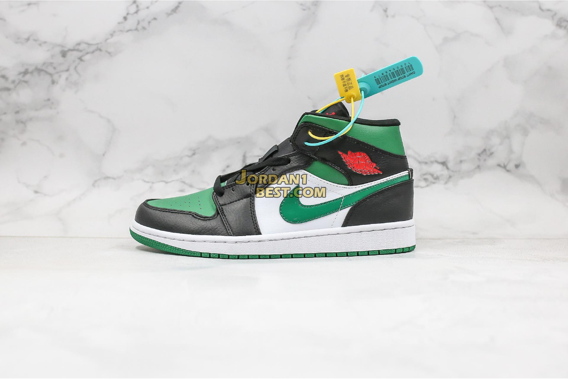 "Air Jordan 1 Mid ""Pine Green"" 554724-067 Mens Womens"